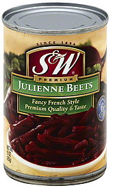 S & W Beets