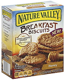 The product: Nature Valley Honey Breakfast Biscuits What we thought: Crispy, crunchy and subtly honey-kissed, these biscuits have become a desk-drawer staple around our offices for good reason! Paired with some fresh fruit, yogurt and coffee, a pack of four biscuits powers us through busy mornings without slowing (or weighing!) us down.