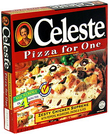 Celeste Pizza for One Zesty Chicken Supreme 5.58 oz ...
