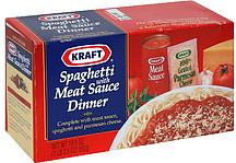 Kraft Spaghetti With Meat Sauce Dinner