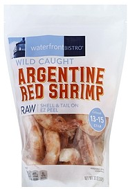 Waterfront Bistro Argentine Red Shrimp Raw Wild Caught 32 0 Oz