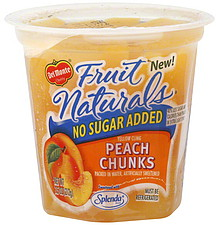 Del Monte Peach Chunks