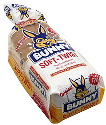 Bunny Bread White Enriched 16.0 oz Nutrition Information | ShopWell