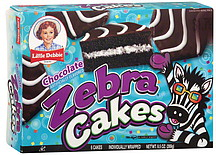 Little Debbie Zebra Cakes Chocolate 6 0 Ea Nutrition
