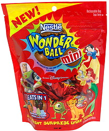Nestle Wonder Ball Mini 10 0 Ea Nutrition Information Shopwell
