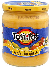 how to eat tostitos salsa con queso