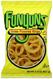 Funyuns Onion Flavored Rings 2 25 Oz Nutrition Information