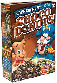 Cap'N Crunch Cereal Choco Donuts 13.0 oz Nutrition Information | ShopWell