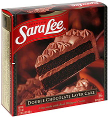 Sara Lee Double Chocolate Layer Cake 22 6 Oz Nutrition