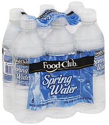 Food Club Spring Water