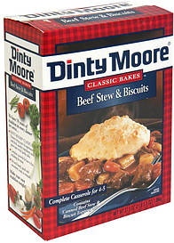 Dinty Moore Beef Stew Amp Biscuits 37 5 Oz Nutrition