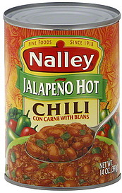 Nalley Chili Con Carne