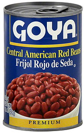 goya red beans central american 15.5 oz nutrition information | shopwell