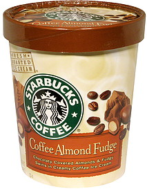 starbucks coffee ice cream coffee almond fudge 1