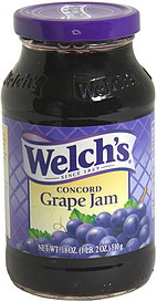 Welch S Concord Grape Jam 18 0 Oz Nutrition Information