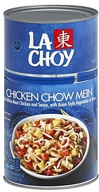 La Choy Chow Mein Chicken, with Asian-Style Vegetables 42 ...