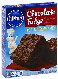 Pillsbury Chocolate Fudge Brownie Mix Nutrition Facts