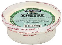 All Natural Cream Cheese Spread
