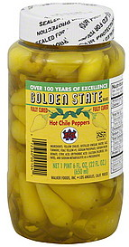 Golden State Hot Chile Peppers