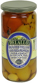 DeLallo Roasted Yellow and Red Peppers
