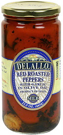 DeLallo Red Roasted Peppers