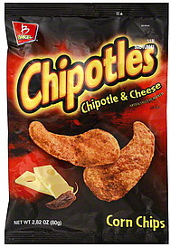 Barcel Corn Chips Chipotle Amp Cheese 2 82 Oz Nutrition