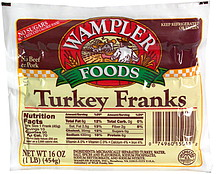 Wampler Foods Turkey Franks