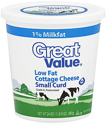 Good Great Value Cottage Cheese