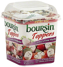 how to serve boursin cheese