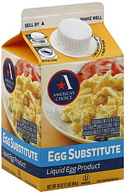 America 39 S Choice Egg Substitute Liquid Egg Product 16 0 Oz Nutrition Information Shopwell