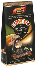 Turin Filled Chocolates Baileys Flavored 4.2 oz Nutrition ...