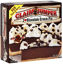 Claim Jumper I Love Chocolate Cream Pie 36 0 Oz Nutrition