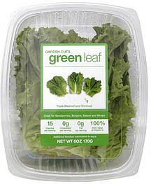 Garden Cuts Green Leaf Lettuce