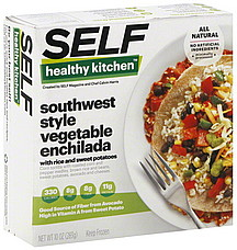 Self Healthy Kitchen Vegetable Enchilada