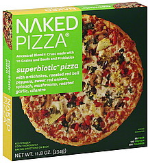 naked pizza nutrition