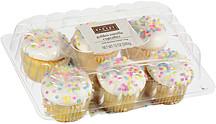 The Bakery At Walmart Cupcakes Golden Vanilla With