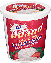 Hiland Cottage Cheese Small Curd 240 Oz Nutrition Information