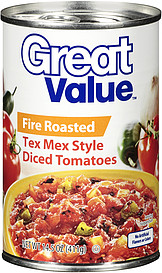 Great Value Tex Mex Diced Tomatoes