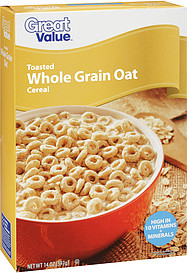 Great Value Toasted Whole Grain Oat