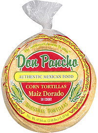Don Pancho Corn Tortillas