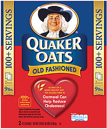 Quaker Old Fashioned Oatmeal Nutrition Facts
