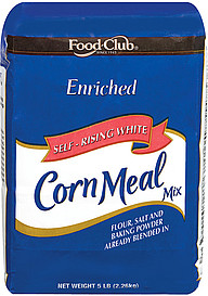 Food Club Corn Meal Mix