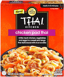 Thai Kitchen Pad Thai thai kitchen tk frozen microwave rice noodles & sauce chicken pad