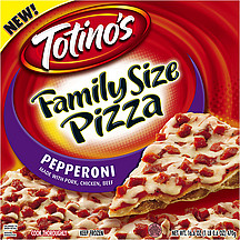 Totinos Pizza Family Size Pepperoni 166 Oz Nutrition Information