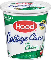 hood cottage cheese w chive small curd 8 0 oz nutrition information rh shopwell com cottage cheese with chives recipe cottage cheese with chives recipe