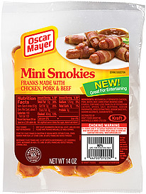 Oscar Mayer Turkey Hot Dogs likewise Oscar Mayer Wieners Cheese Hot Dogs With Turkey in addition Thursday Low Carb Foods as well Oscar Mayer Jumbo Wieners 8 Count 16 Oz likewise The Bacon Hot Dog Weenie Youve Been Waiting For Has Finally Arrived. on oscar mayer smokies