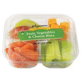 Wegmans Food You Feel Good About Fruit, Vegetables & Cheese Bites