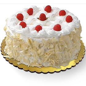 Wegmans Frozen Cakes Pies Large White Forest Cream Cake 420 oz