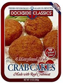 Dockside Classics Crab Cakes