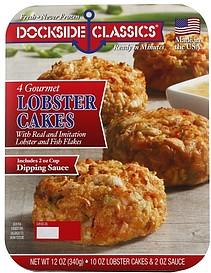 Dockside Classics Lobster Cakes